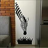 Mhdxmp Zebra Wandtattoos Moderne Kunst Dekoration Für Ihre Küche Schlafzimmer Oder Wohnzimmer Zebra Wandaufkleber Kunst Murals46 * 99Cm