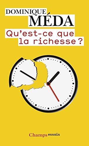 Livres epub gratuits à télécharger Qu'est-ce que la richesse ? en français ePub by Dominique Méda