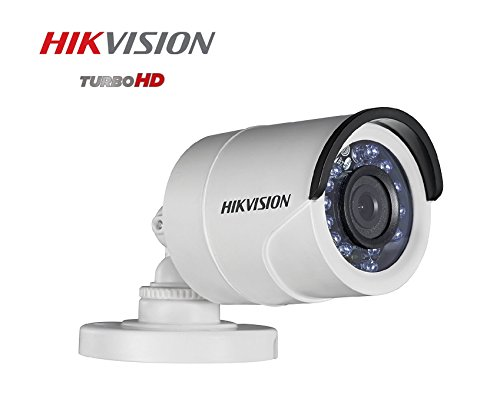 Hikvision DS-2CE16D0T-IRP 2MP 1080P Full HD Night Vision Outdoor Bullet Camera (White)