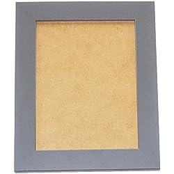 Deknudt Frames - S226K7 - Basic Cadre Photo - Gris - Large - 15 x 20 cm