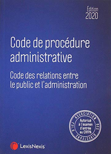Code de procédure administrative 2020