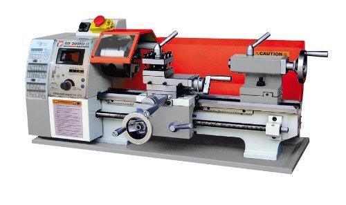 HOLZMANN-MASCHINEN Tischdrehmaschine ED 300FD Test