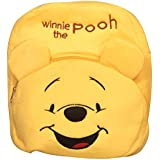 Blue Tree Soft Material School Bag For Kids Plush Backpack Cartoon Toy | Children's Gifts Boy/Girl/Baby/Decor School Bag For Kids(Age 2 To 6 Year) (Winnie The Pooh)(Yellow)