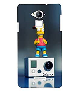 PRINTSHOPPII MUSIC CARTOON Back Case Cover for Coolpad Note 3