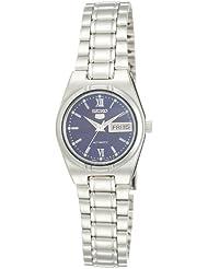 Seiko Damen-Armbanduhr 5 Lady Analog Automatik Grau SYM605K1