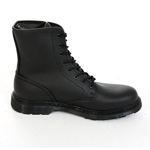 Boots & Braces - easy 8 Loch Vegetarian Black Stiefel Rangers Schwarz Größe 43 (UK9)