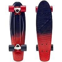 Kryptonics Skateboard 22.5pollici Classic Torpedo pattinaggio, Outdoor Board, Sport & tempo libero–Shade