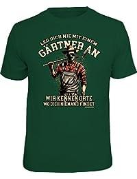 Original RAHMENLOS® T-Shirt für den Gartenliebhaber: Leg' dich nicht mit einem Gärtner an…