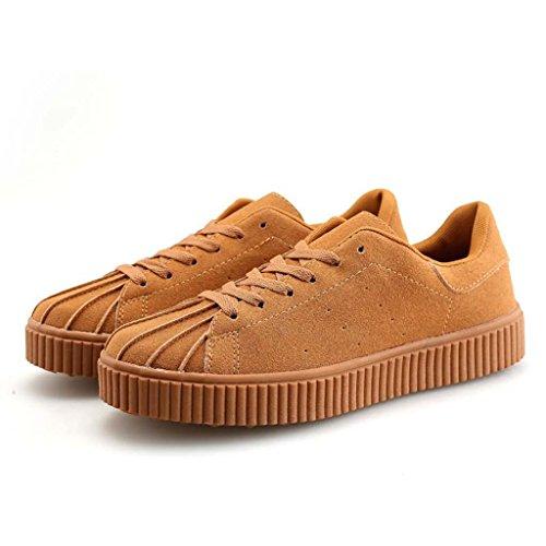 ZXCV Scarpe all'aperto Le scarpe da uomo Shell sono scarpe casual puro traspirante Yellowish