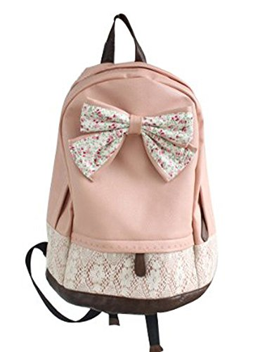 t Lace Floral Leinwand Rucksack Rucksack mit A Stylus ()