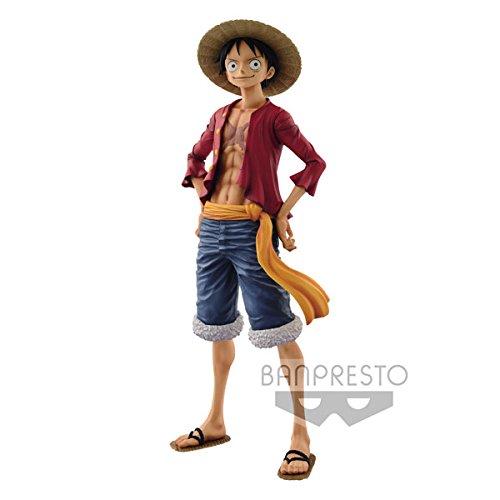 Banpresto One Piece Grandista Resolution of Soldiers Figure Monkey D. Luffy 27 cm Statue