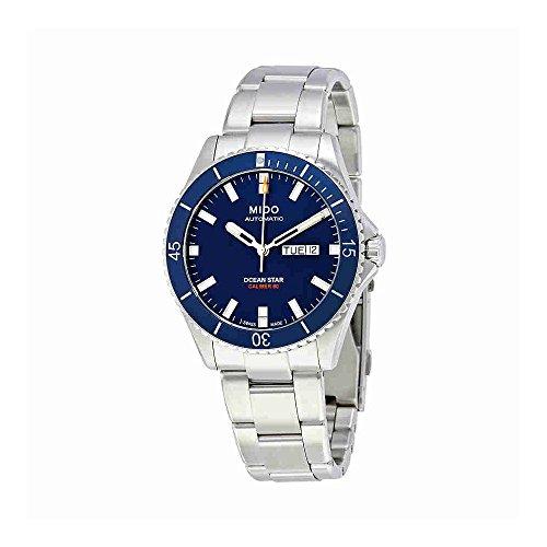 mido-ocean-star-captain-v-herren-armbanduhr-425mm-armband-edelstahl-automatik-analog-m0264301104100