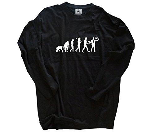 Standard Edition Lehrer Evolution T-Shirt Longsleeve-Shirt Schwarz L