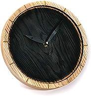 Orologio da parete in legno rustico fatto a mano Orologio da parete in legno Orologio rustico Orologio in legn