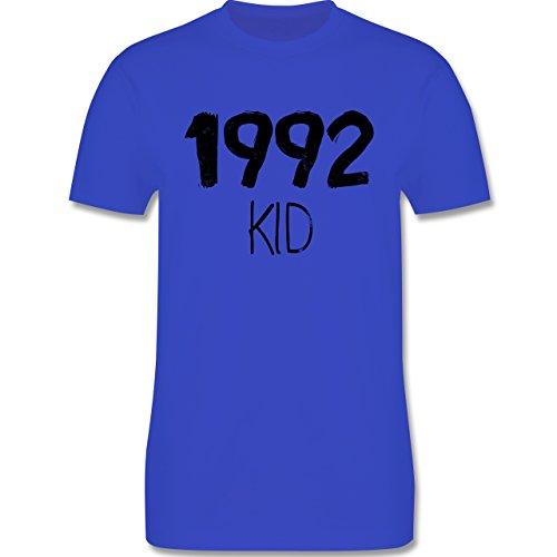 Geburtstag - 1992 KID - Herren Premium T-Shirt Royalblau