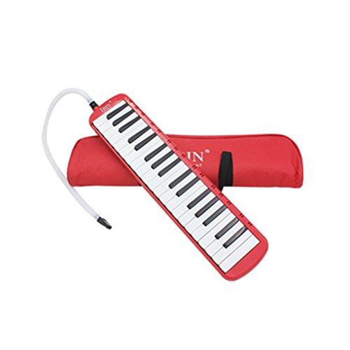 Ben-gi 32/37 Klavier-Schlüssel Melodica Musikunterricht Instrument Mundharmonika Mundharmonika mit Tasche für Erwachsene Schüler verwenden