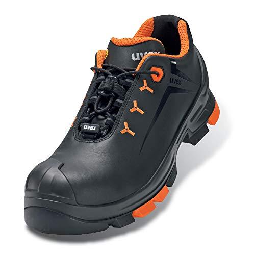 Uvex 2 Arbeitsschuhe - Sicherheitsschuhe S3 SRC ESD - Orange-Schwarz - Weite 12 / Weit - GR, Größe:40