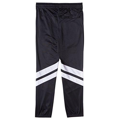 CHABOS IIVII Uomo Pantaloni / Pantalone ginnico Fourstar Core Nero