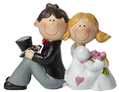 'Bride and Groom IV Cake Figures/Table Decoration