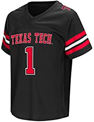 "Texas Tech Red Raiders NCAA ""Hail Mary Pass"" Toddler Football Jersey Maillot"