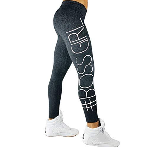 gfjfghfjfh Secado rápido Inglés Letras de impresión Leggings Deportivos Mujeres Pantalones de Correr Largos Cómodos Mujer Yoga Ropa Entrenamiento