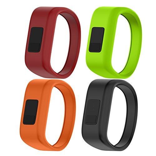 NotoCity Kompatibel mit Garmin Vivofit JR Armband Soft Silikon Uhrenarmband für Kinder (Unisex)