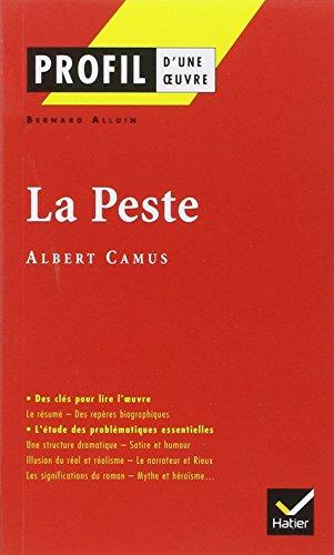 La Peste d'Albert Camus par Bernard Alluin