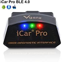 Vgate iCar Pro Bluetooth 4.0 (BLE) OBD2 OBDII Fehler Code-Leser Auto Check Engine Licht mit ELM327 Adapter