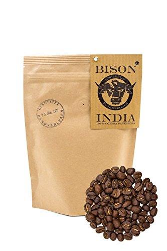 HerzogKaffee Premium Kaffee | BISON India | Von Sterneköchen ausgezeichnet | 100% Canephora, Ganze...