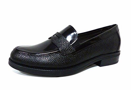 Stonefly 107131 Clyde 19 scarpe mocassino donna in pelle nero con tacco basso confort n° 35