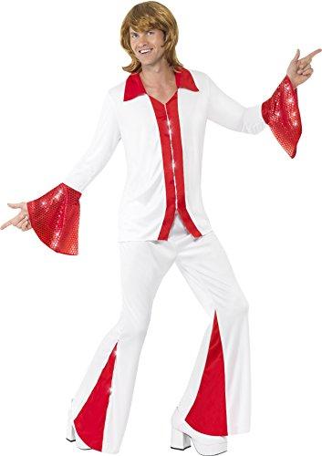 Smiffys Herren Super Trooper Kostüm, Hemd und Hose, Größe: M, 33496 (Troopers-halloween-kostüm Super)