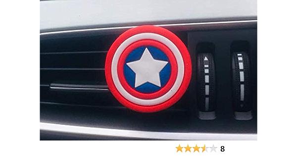 Cf Marvel Justice League Captain America Shield Auto Lufterfrischer Auto