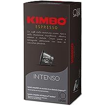 KIMBO intenso - Intensidad 12-100 Cápsulas compatibles con cafeteras Nespresso®* - 10