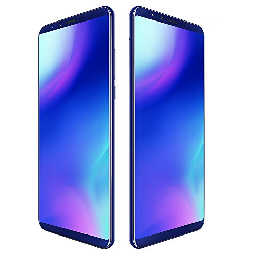 CUBOT X18 Plus - 4G Smartphone 5.99 Pulgadas Android 8.0 MTK6750T 1.5GHz Octa Core 4GB RAM 64GB ROM 4000mAh Batería 20MP + 2MP Cámaras Duales Traseras Desbloqeo de Huellas Digitales -Azul