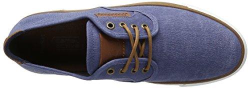 camel active Racket 14, Scarpe da Ginnastica Basse Uomo Blu (Jeans 03)