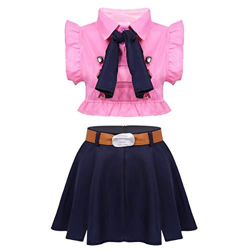 inhzoy Disfraz de Princesa Anime para Mujer Chica...