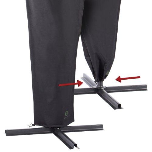 Ultranatura Housse de protection pour parasol à mât excentré, gamme Dome/Bahamas