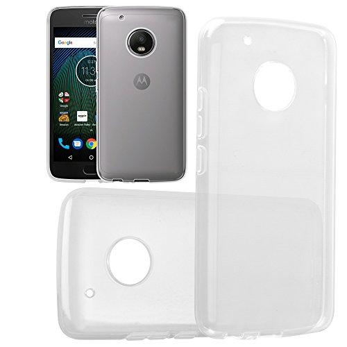 HANDYPELLE Silikon-Hülle für Motorola Moto G5 Plus Soft TPU Schutzhülle Case Weich Transparent Klar Durchsichtig Crystal Clear