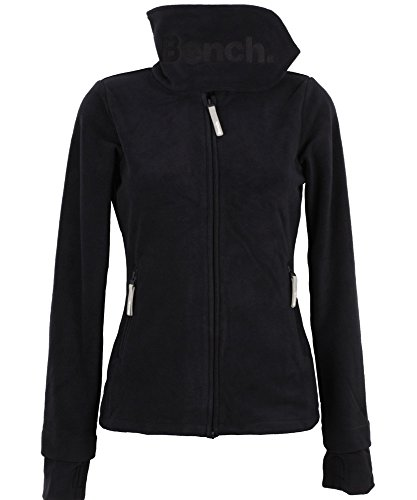Bench Funnel Neck Fleece Jacke Fleecejacke Black schwarz XL