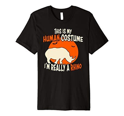 Ich bin wirklich eine Rhino This is my Echthaar Kostüm T-Shirt