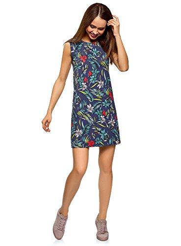 oodji Ultra Women's A-Line Cotton Dress