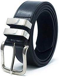 59eeb7e94862 Ossi 38mm Jean double boucle ceinture pour homme - noir, brun ou tan (82cm