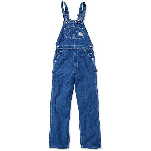 Carhartt Denim Bib Overalls (Carhartt Washed Denim Bib Overall - Jeans Latzhose/Arbeitshose)