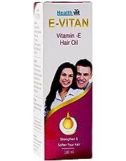 HealthVit E-Vitan Vitamin E Hair Oil - 100 ml
