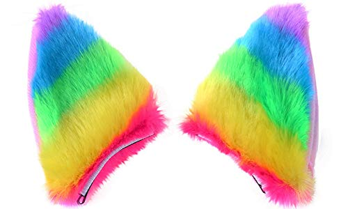 Haarspange Haarclips Haarnadeln Fox Ohren Stirnband Haarreif Haarschmuck Headwear Anime Prom,Tanz,Cosplay,Halloween Kostüm Zubehör ()