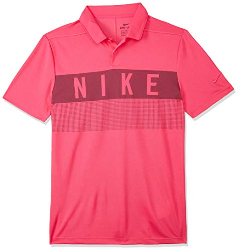 9509814d4aa Nike Jungen Dri-FIT Golf-Polo T-shirt, Rosa (Rush Pink