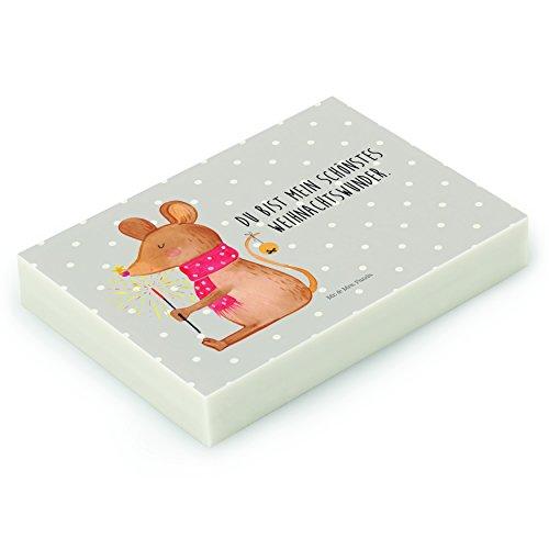 Mr. & Mrs. Panda Radiergummi Weihnachtsmaus - 100% handmade in Norddeutschland - Maus, Mäuschen,...