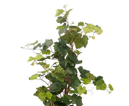 Künstlicher Rebstock, UV beständig, 136 Blätter, Höhe ca. 120cm – Kunstpflanze