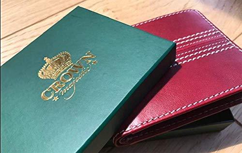 Crown Majestic Geldbörse für Cricketbälle, Leder