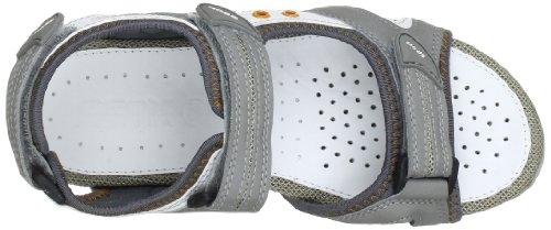 Geox D Strel B, Sandali alla Moda Donna Grigio (Grey C1006)